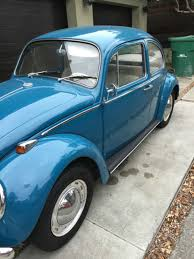 one of a kind restored vw beetle original factory paint color