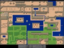 legend of zelda map with cheats dream master nostalgia game maps pinterest
