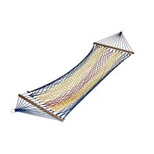 Hammock With Wood Stand Algoma 11 Ft Caribbean Polyester Hammock With Wooden Arc