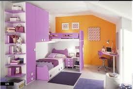white lilac and orange color scheme u2013 kids bedroom image