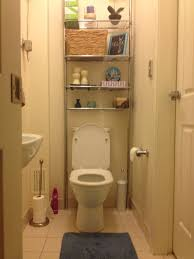 Bathroom Toilet Vanities by Floating Corner White Wooden Bathroom Wall Cabinet With Two Swing