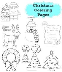 printable christmas coloring pages coloring ville coloring pages