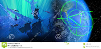 Bermuda Triangle Map The Bermuda Triangle Royalty Free Stock Images Image 20560859