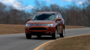subaru outlander 2014 2014 mitsubishi outlander first drive consumer reports youtube