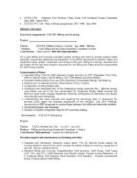 sap scm resume resume for your job application