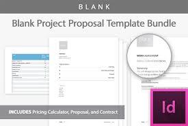 project proposal template kit by bootst design bundles