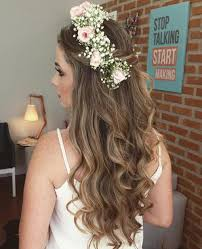 how to get a lifted crown hairdo half up half down wedding hairstyles 50 stylish ideas for brides