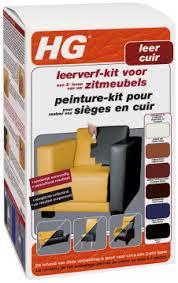 peinture pour canap en cuir hg peinture pour cuir kit brun foncé