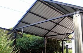 Covered Garage Roof Beautiful Patio Roof How To Give A Flat Roof Covered