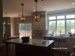 rustic kitchen island lighting pendant with glass lights for light