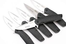 wedding gift knife set engraved groomsmen knives dlt trading