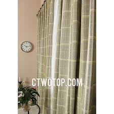 Green Plaid Shower Curtain Contemporary Decorative Discount Bedroom Sage Green Plaid Curtains