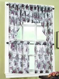Rust Colored Kitchen Curtains Kitchen Curtains Tiers Swags Valances Lace Kitchen Curtains