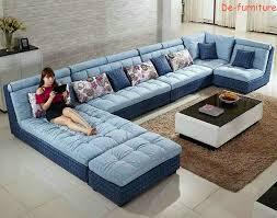 Modern Fabric Sofa Sets 11 Modern Fabric Sofa Set Home Furniture U Shape Sofa Living