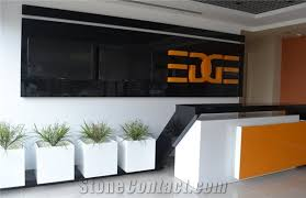 Simple Reception Desk Modern Simple Design Acrylic Solid Surface Reception Desk For