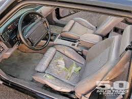 fox mustang interior restoration m5lp 0903 11 z ford mustang fox improvements leather interior