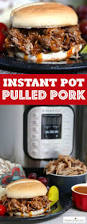 instant pot pulled pork easy pressure cooker bbq recipe