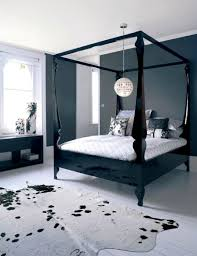 Black Canopy Bed Black Canopy Bed Curtains For Cozy Sleeping Place