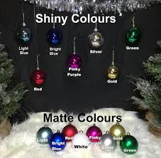 personalised name date 8cm baubles ornaments in gift