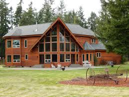 decorating wonderful lindal cedar homes with wood siding and