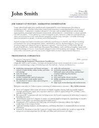 sample resume for marketing assistant event planner sample resume