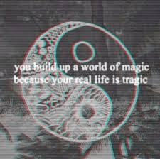 black and white magic quotes sad tragic yang yin yin yang