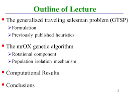 Oklahoma traveling salesman images The generalized traveling salesman problem a new genetic jpg