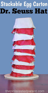 paint u0026 stack dr seuss egg carton hat u2013 the pinterested parent