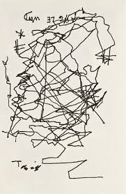 Becoming Blind Jorge Luis Borges After Going Blind Draws A Self Portrait Open