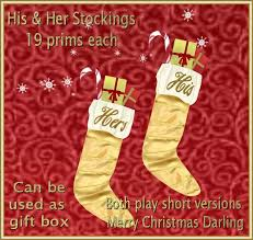 christmas hers second marketplace fda his hers gold christmas