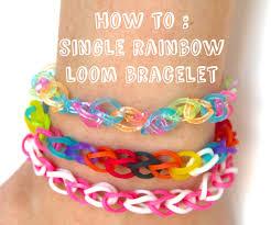 bracelet looms images Single rainbow loom bracelet 5 steps with pictures jpg