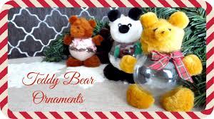 diy teddy ornaments justmerache guest411momma