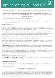 Tips For A Great Resumes 8 Best Images Of A Good Curriculum Vitae Curriculum Resume Vitae