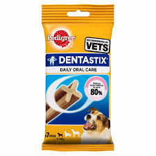 pedigree dentastix dog treats small dog 7 sticks dental dog chew