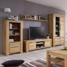 Wohnzimmerschrank F Fernseher Wohnwand Mamaia Aus Kernbuche Massivholz Pharao24 De
