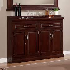 ahb ricardo slimline bar cabinet cherry walmart com
