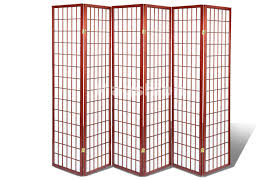 Japanese Room Dividers by 6 U0026amp 8 Panel Japanese Oriental Room Divider Privacy Wall Wood