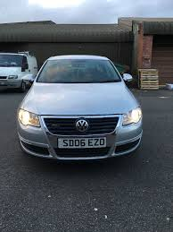 volkswagen vw passat b6 1 9 tdi 2006 leather seats silver low