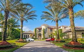 Florida Mediterranean Style Homes 4 4 Million Mediterranean Lakefront Mansion In Boca Raton Fl