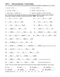ws 4 1 balancing equations formula weight 10th 12th grade