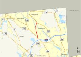 Ri Map Rhode Island Route 99 Wikipedia
