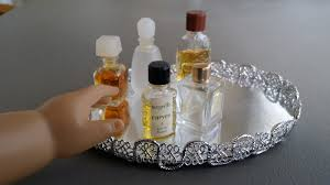 vanity trays for perfume fun with ag fan spice it up quick and easy craft make a doll