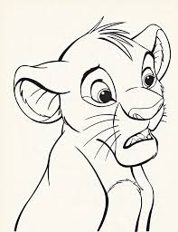 walt disney coloring pages simba walt disney characters characters