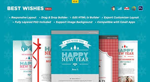 best wishes html email template buy premium best wishes html