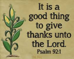 give thanks thanksgiving psalms thanksgiving