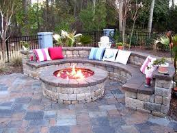 Landscaping Ideas Small Area Front Landscape Ideas With Sitting Area Outdoor Fire Pits And Pit Safety