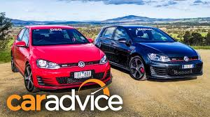 volkswagen golf gti comparison manual v dsg youtube