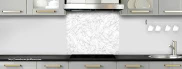 cuisine marbre blanc plaque autocollante credence cuisine génial crédence de cuisine