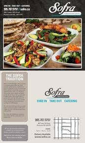 Sofra Mediterranean Kitchen - sofra mediterranean cuisine menu 380 tower hill rd richmond hill