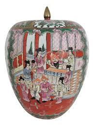 ginger jar antique chinese famille rose qianlong ginger jar oriental design